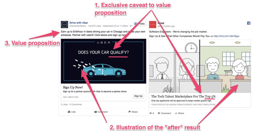design de um anúncio no facebook