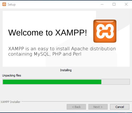 Bem-vindo ao XAMPP