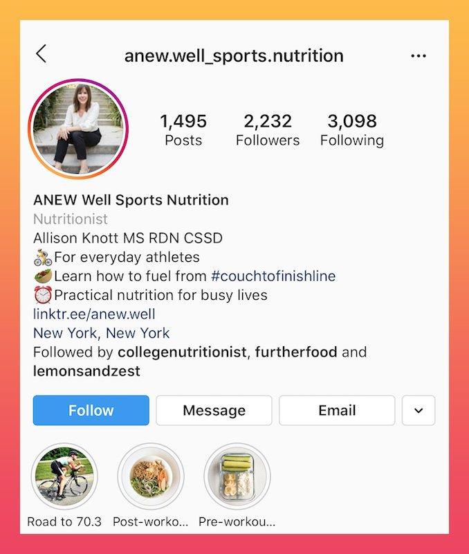 exemplo de bio nutrição esportiva