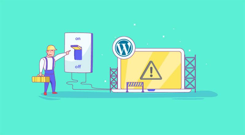 Wordpress Travado No Modo De Manutencao