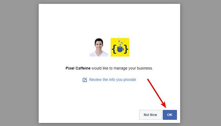 dar acesso a cafeína de pixel