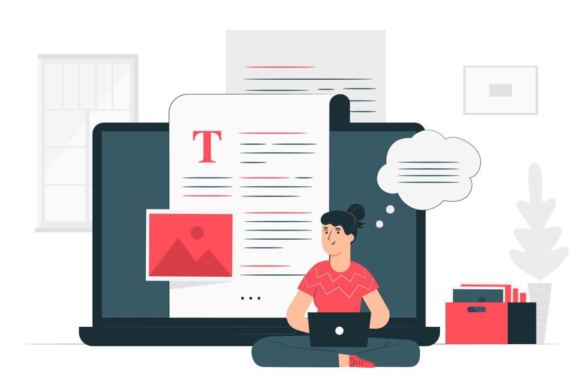 Como começar a escrever conteúdo?