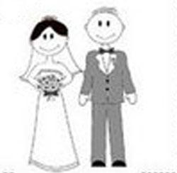 Noivinhos Em Preto E Branco Planejando Meu Casamento