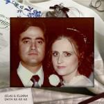 Eu, com 23 anos, no meu casamento :)