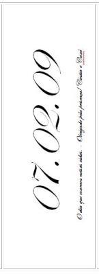 Marcador de página - Marcador de livro  - Lembrancinha de casamento