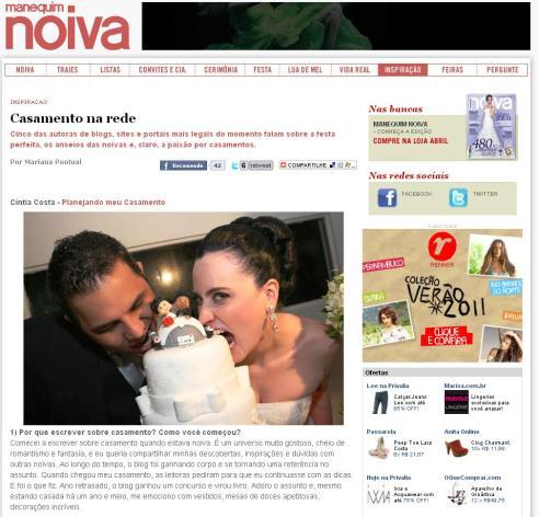 Os blogs mais legais de casamento