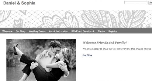 Como criar sites de casamento no Google Weddings