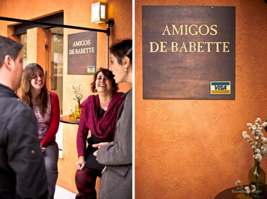 Espaço para eventos Confraria Amigos de Babette: entrada