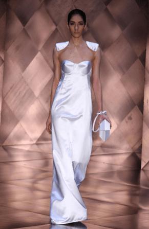 SPFW Verão 2012: vestidos brancos de Reinaldo Lourenço para noivas