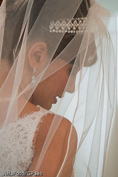 Casamento: véu de noiva