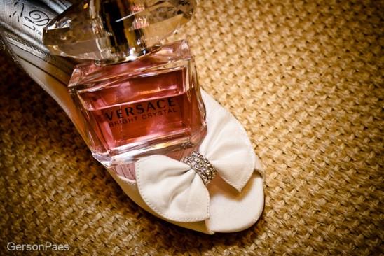 Perfume de noiva: Bright Crystal, de Versace. Foto: Alfa Foto.