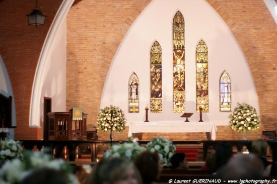 Igrejas para casar - Catedral Anglicana de São Paulo: vitrais no altar. Foto: Laurent Guerinaud.