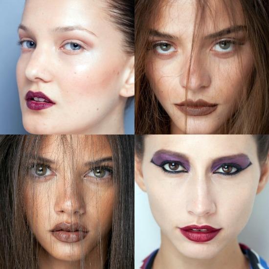 Tendência de maquiagem para inverno 2012 - Fashion Rio e SPFW