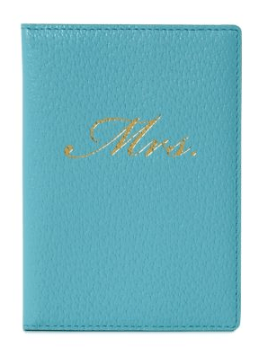 Porta passaporte Mrs. Kate Spade.