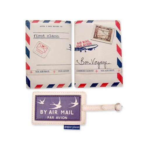 Passaporte de envelope de carta.