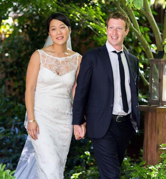 Casamento Mark Zuckerberg e Priscilla Chan: vestido noiva