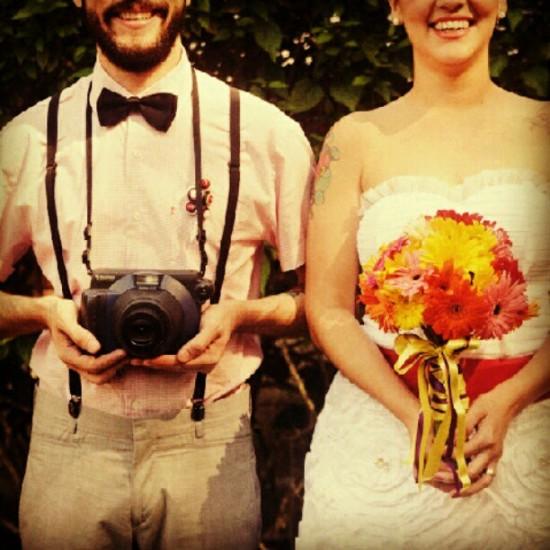 Instagram de casamento
