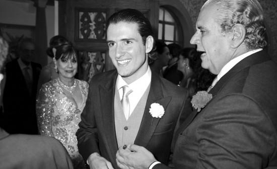 Casamento Lala Rudge: o traje do noivo, Luigi Cardoso.