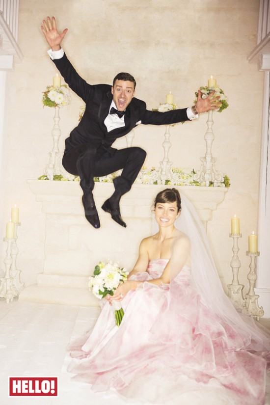 Casamento Justin Timberlake e Jessica Biel.