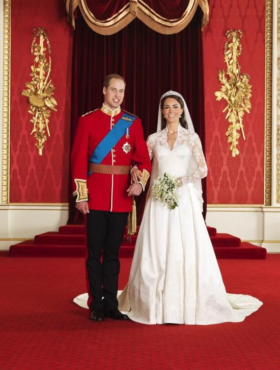 Casamento real: vestido de noiva de Kate Middleton.