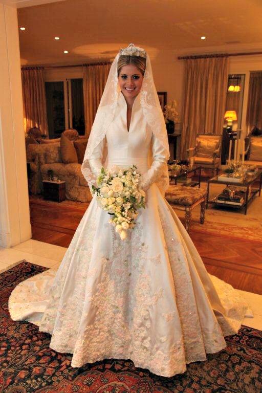 Vestido de noiva de Lala Rudge