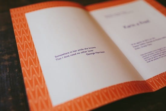 Frases para convite de casamento: letra de Something, de George Harisson.
