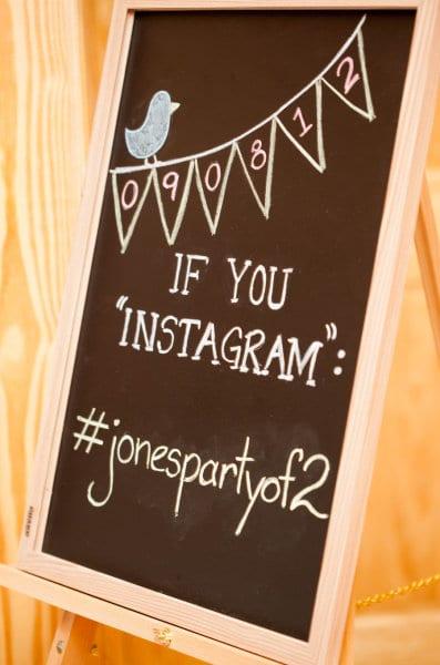 Hashtag de casamento para o Instagram. Foto: Tonya Beaver Photography.