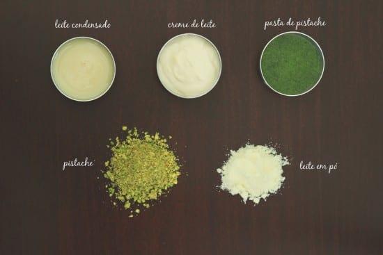 Receita de brigadeiro gourmet de pistache. Foto: Alessandra Luvisotto | Nena Chocolates.