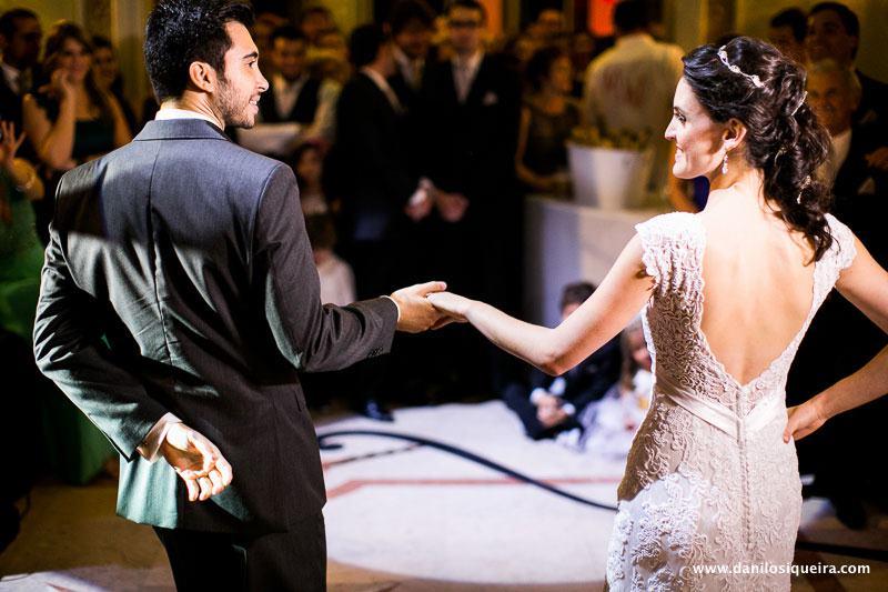 Casamento: a valsa dos noivos. Foto: danilo Siqueira.