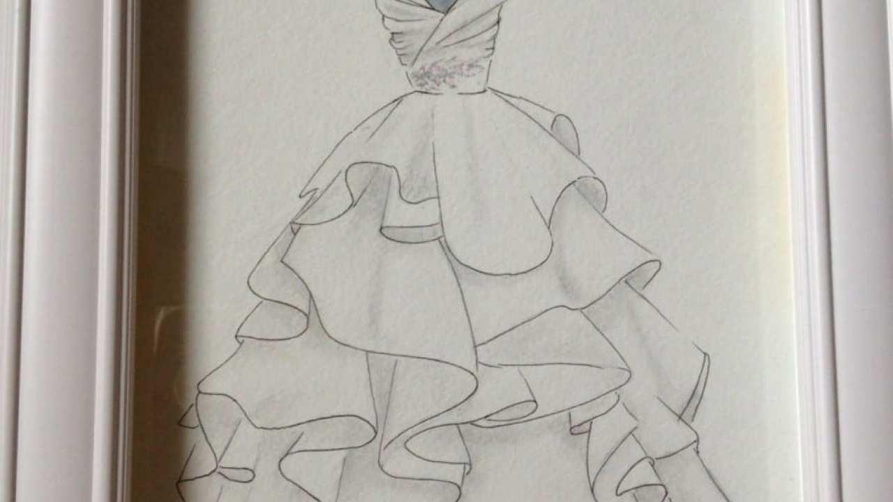 Transforme Seu Vestido De Noiva Uma Obra De Arte
