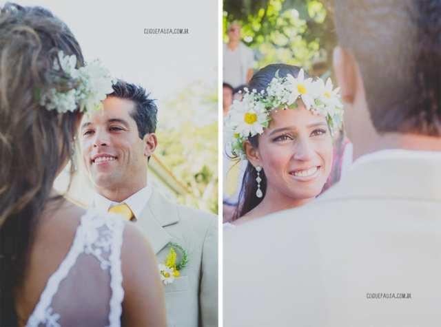 Casamento no campo: Luna e Alexandre. Foto: Clique Pausa.