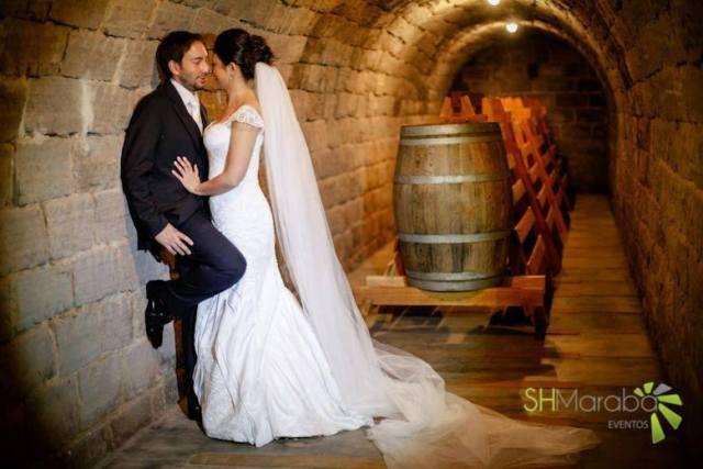 Casamento na vinícola La Dorni do Brasil. Foto: Sh Marabá.