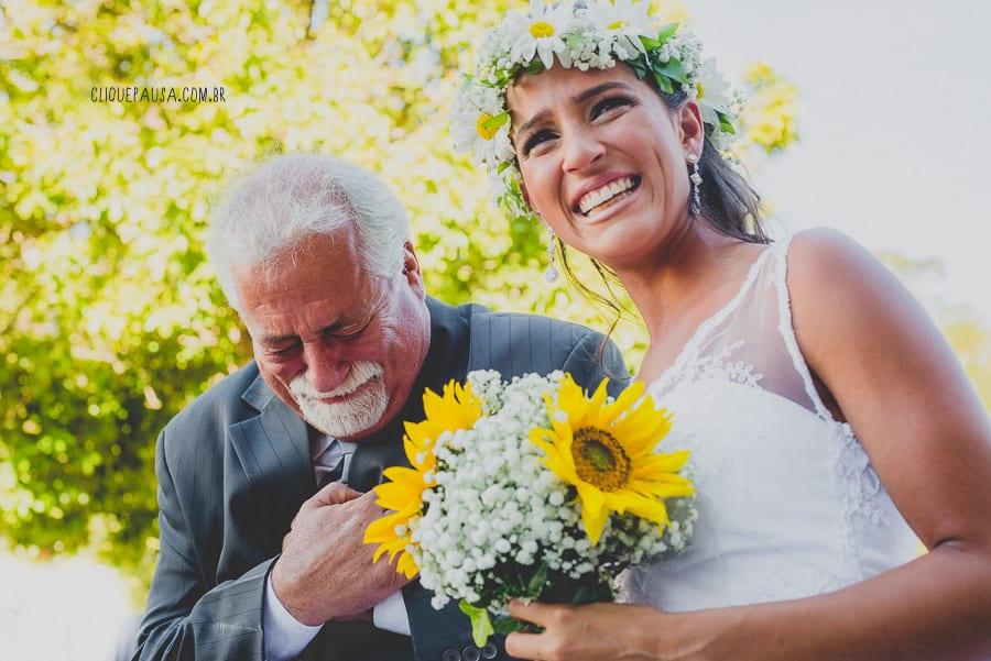 Luna e Alexandre: um casamento no campo cheio de natureza e até esportes!