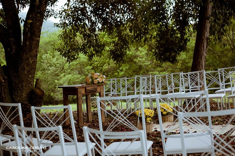 Casamento no campo de Greice e Everton. Foto: Caroline Cerutti,