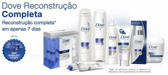 Dove Reconstrução Completa 7 Dias