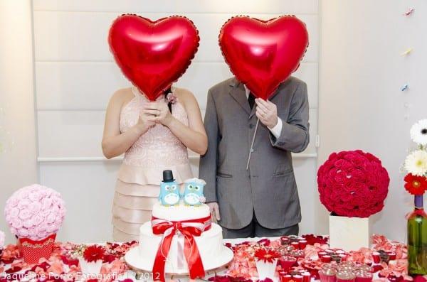 Casamento econômico no salão de festas do prédio. Jaqueline Porto Fotografia.