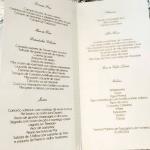 Cardápio chique do casamento de Wesley Safadão e Thyane Dantas.