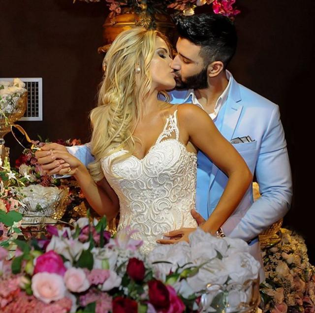 Fotos do casamento Gusttavo Lima e Andressa Suita.