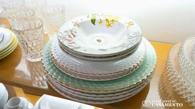 Lista de presentes de casamento: aparelho de jantar na loja de casa e decoração RS Casa. Foto: www.planejandomeucasamento.com.br