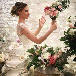 Buquês de noiva e decoração para casamento. Florista: Lygia de Luca, da Leve Flores.