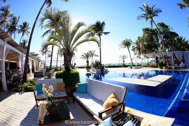 Espaços para casamento na praia em Ilhabela: Sea Club Ilha Bela. Veja mais locais no site Planejando Meu Casamento ( www.planejandomeucasamento.com.br ).