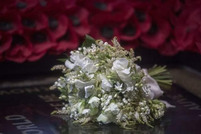 Buquê de noiva do casamento Real: Príncipe Harry e Megan Markle. Mais detalhes no blog www.planejandomeucasamento.com.br