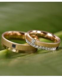 Aliança de Casamento de Karina Bacchi e Amaury Nunes. Foto: @jaquecerimonial