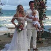 Casamento de Karina Bacchi e Amaury Nunes. Foto: @kenoaresort