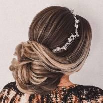 Fotos de penteados de noiva: coque. Foto: @paulolacerda22