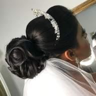 Fotos de penteados de noiva: coque. Foto: @valmisia_belle