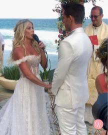 Votos do Casamento de Karina Bacchi e Amaury Nunes. Foto: @centraldanoiva