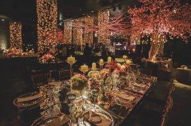 Decoração da festa do casamento Nicole Bahls e Marcelo Bimbi. Foto: @tudoproseucasamento