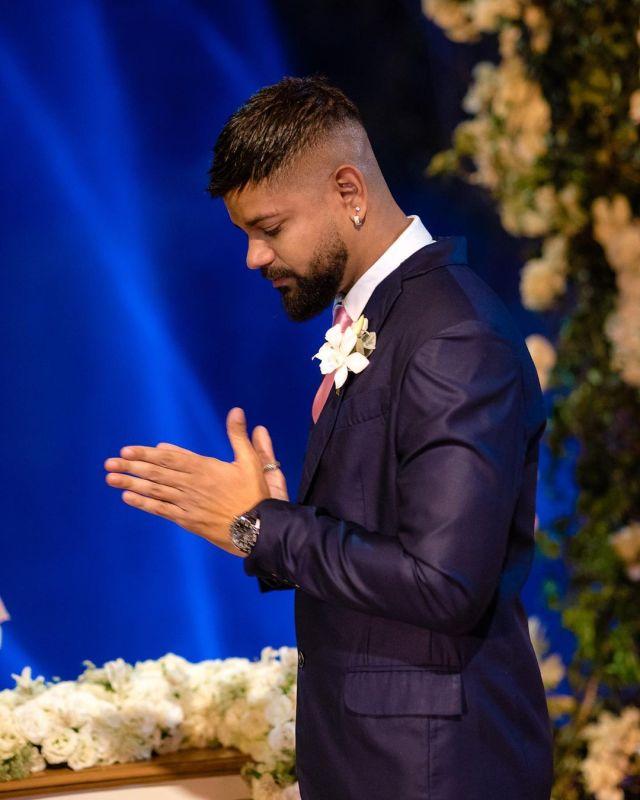 Guilherme Militão - Noivo - Casamento Viviane Araújo