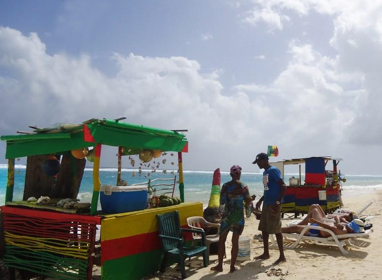 Barracas da Praia de San Luis